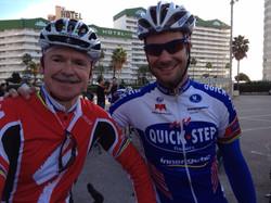 Dr. Pruitt & Tom Boonen