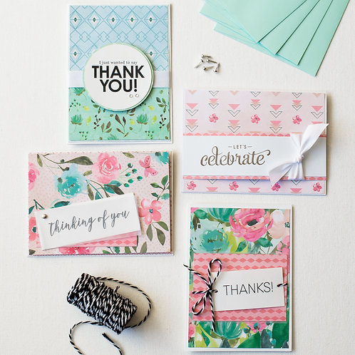 spring card making kit