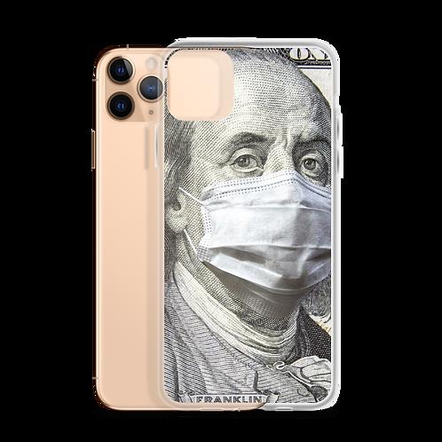 Benjamin Franklin Mask iPhone Case