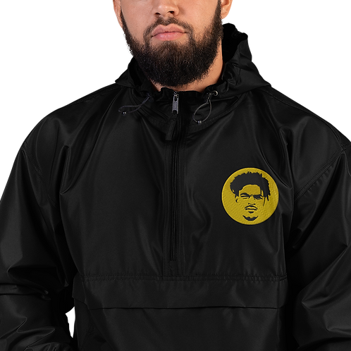 Q Capone Embroidered Champion Packable Jacket
