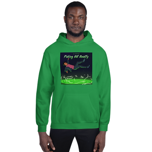 Falling Out Reality Unisex Hoodie