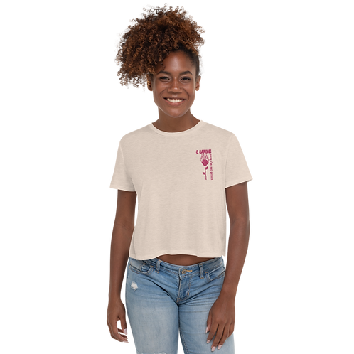 Sorry I'm Not Perfect Crop Tee