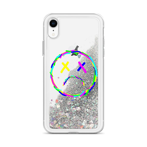 Sad Liquid Glitter Phone Case