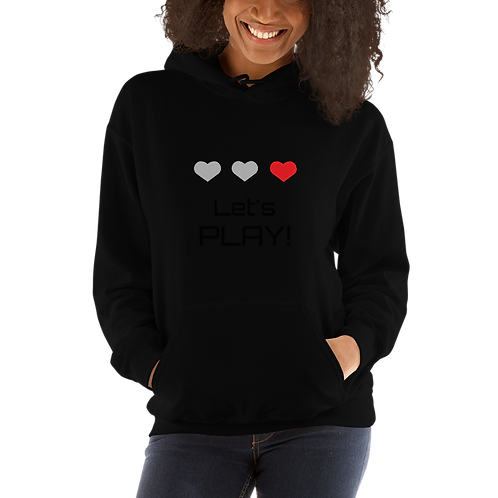 Let's Play Q Capone Unisex Hoodie