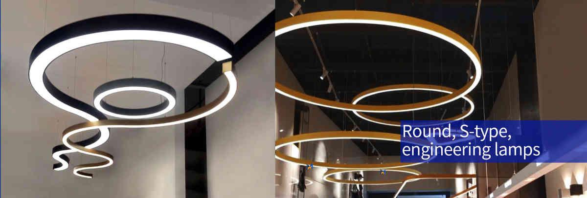 Round S-type led lights