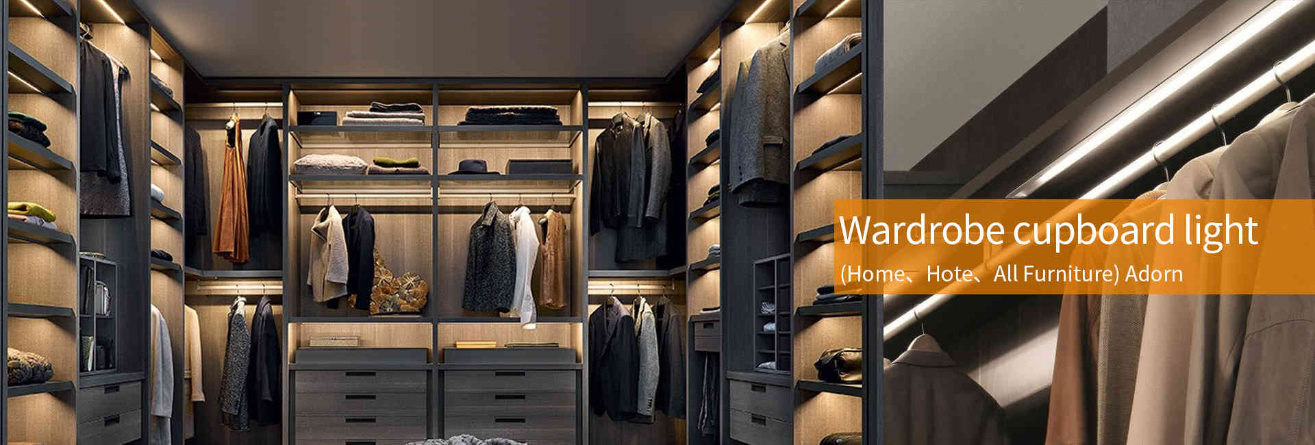 wardrobe cupboard led lights