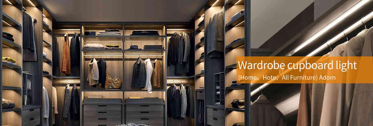 wardrobe cupboard led lights