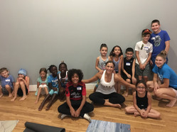 Pure 8 hot Yoga Summer Kids Camp!