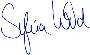 Sylvia Wild Unterschriftblau.png