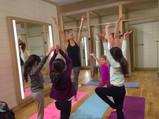 ATHLETA in-store yoga