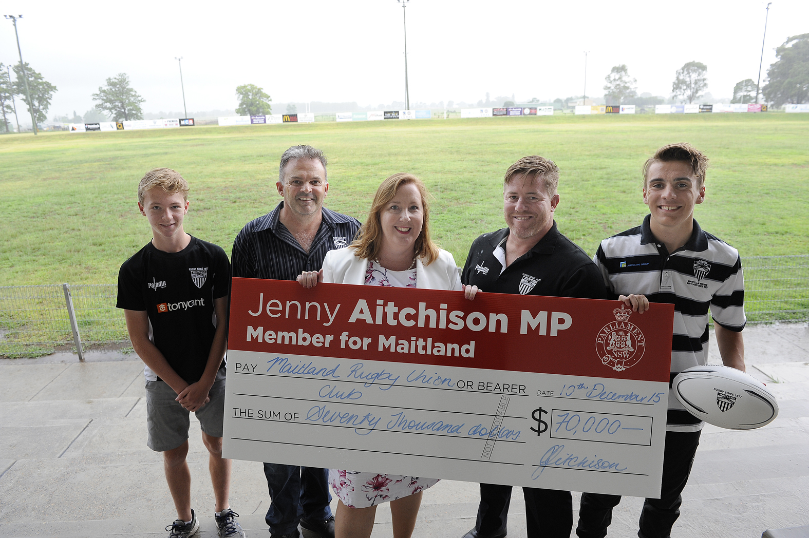 Maitland Blacks Funding Announcement