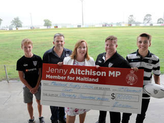 Maitland Blacks receive much needed funding