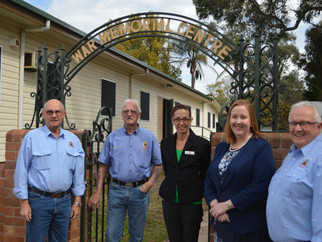 MEDIA RELEASE: Upgrade to East Maitland War Memorial Hall welcomed