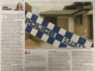 Preventing domestic violence is not on NSW government's priority list