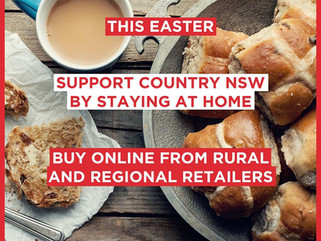 MEDIA RELEASE - Support regional communities online during Easter Staycation