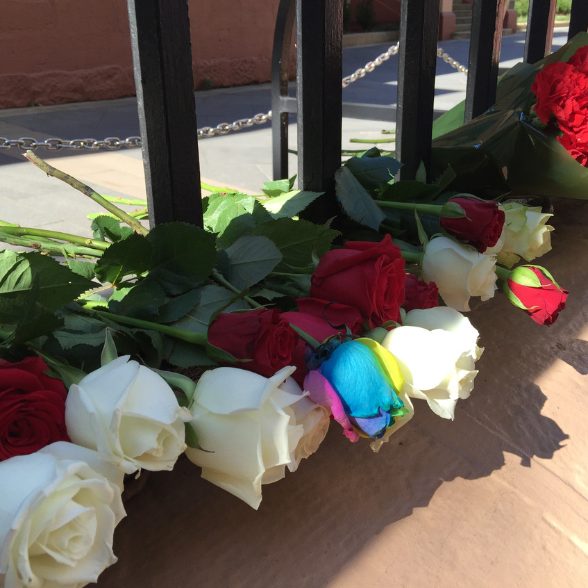 Roses to commemorate victims of DFV