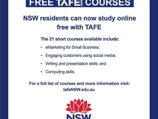 MEDIA RELEASE - Free TAFE courses to support NSW in pandemic good, but let's do more