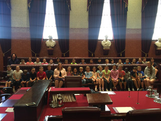 Maitland Christian School visits Parliament House