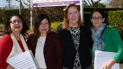 Launch of the petition, Bankstown