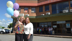 Volunteers for Palliative Care Office Opening