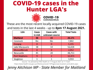 COVID19 CASE UPDATE 17 AUGUST