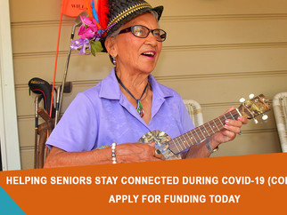 MEDIA RELEASE - Funding to combat isolation for Maitland Seniors