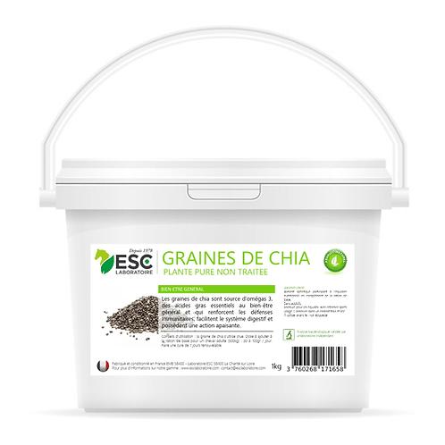 ESC Laboratoire - Graines de chia – Apport en nutriments et bien-être général ch