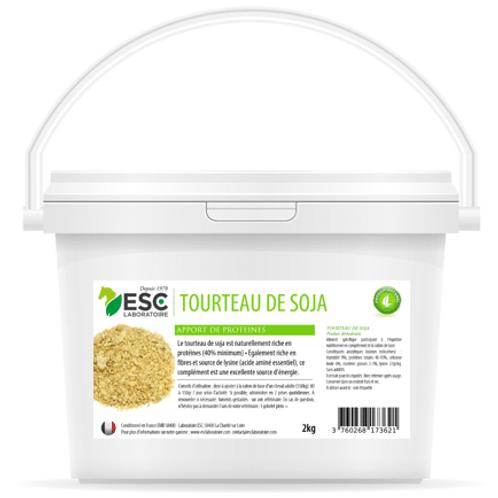 ESC Laboratoire - Tourteau de soja – Apport en protéines et soutien énergétique