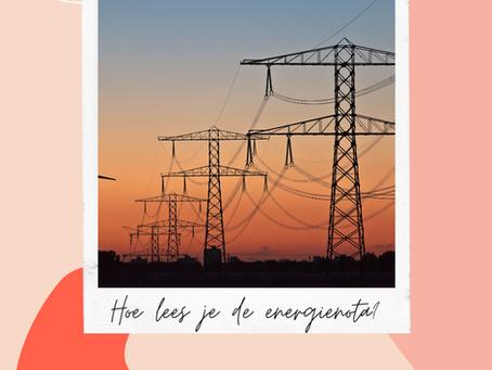 Hoe lees je de energienota?