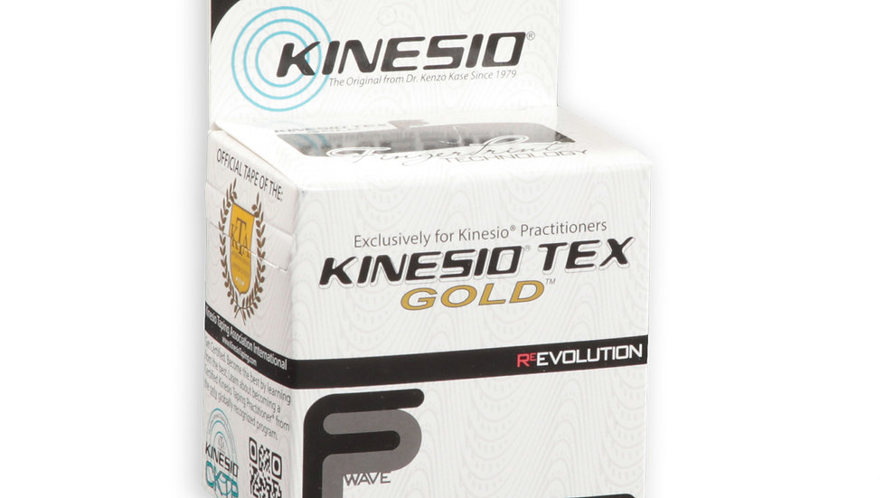 "Kinesio® Tex Gold FP (2"" Black)"