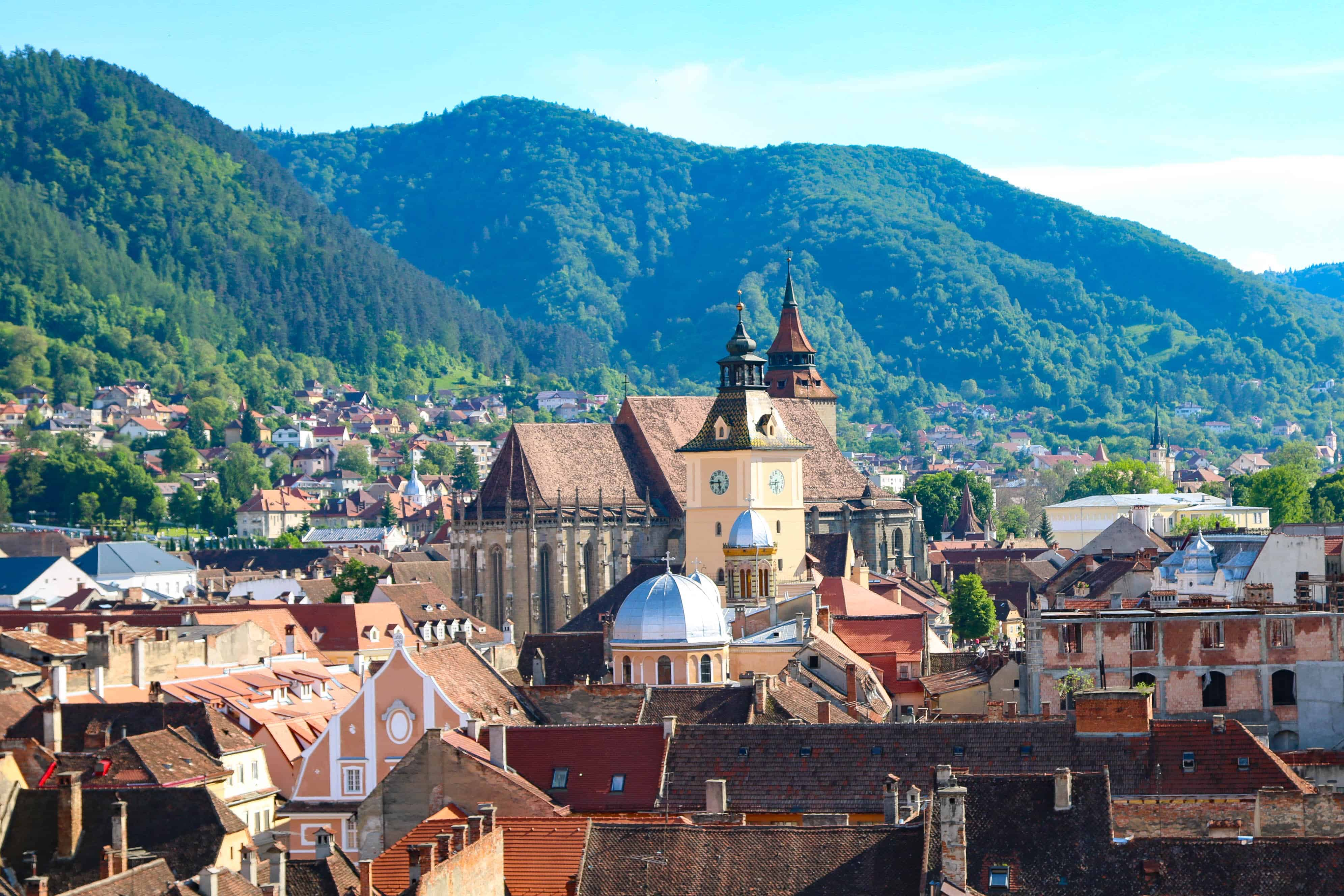 Brasov city Romania