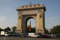 The Arch of Triumph Bucharest
