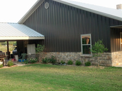 Exterior of Metal Home