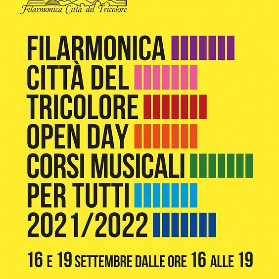 OPEN DAY 2021 - TERZO TURNO 16 SETTEMBRE