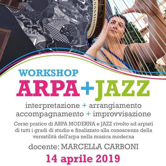 Workshop di Arpa Jazz con Marcella Carboni