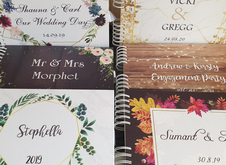 New Sample Guest Books