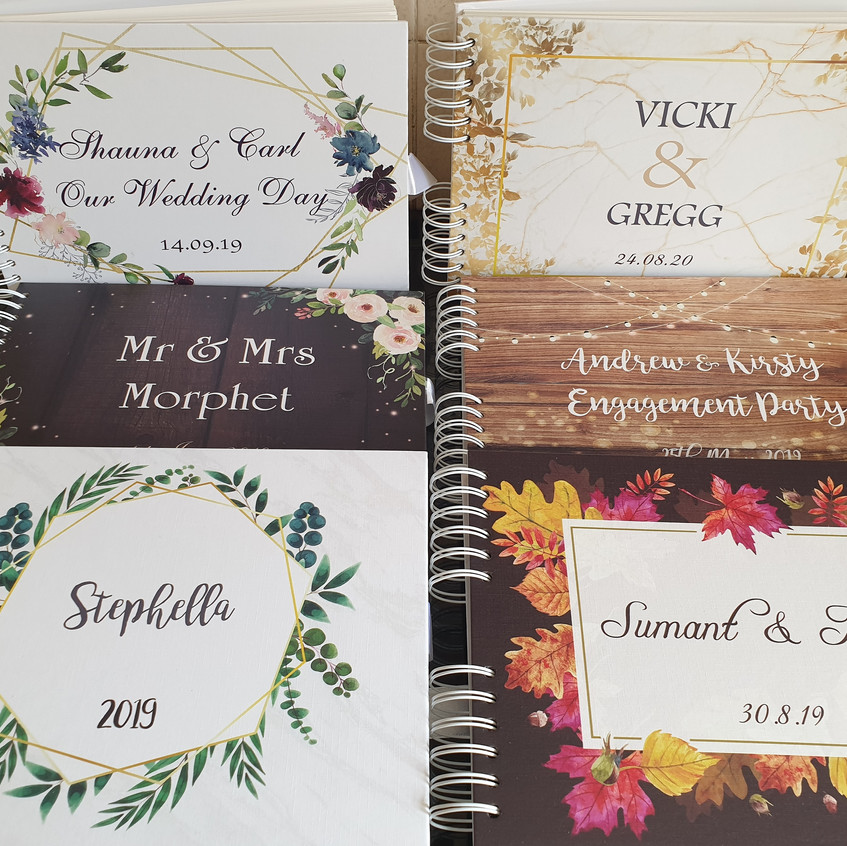 Sample guest books
