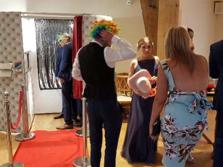Aimee & Richard's wedding reception.