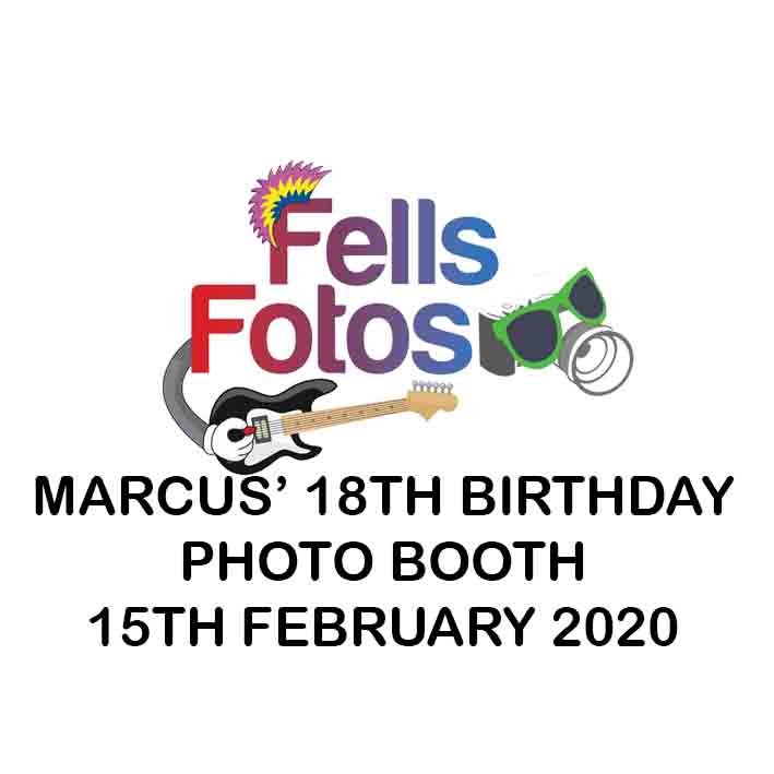 MARCUS' 18TH BIRTHDAY PARTY
