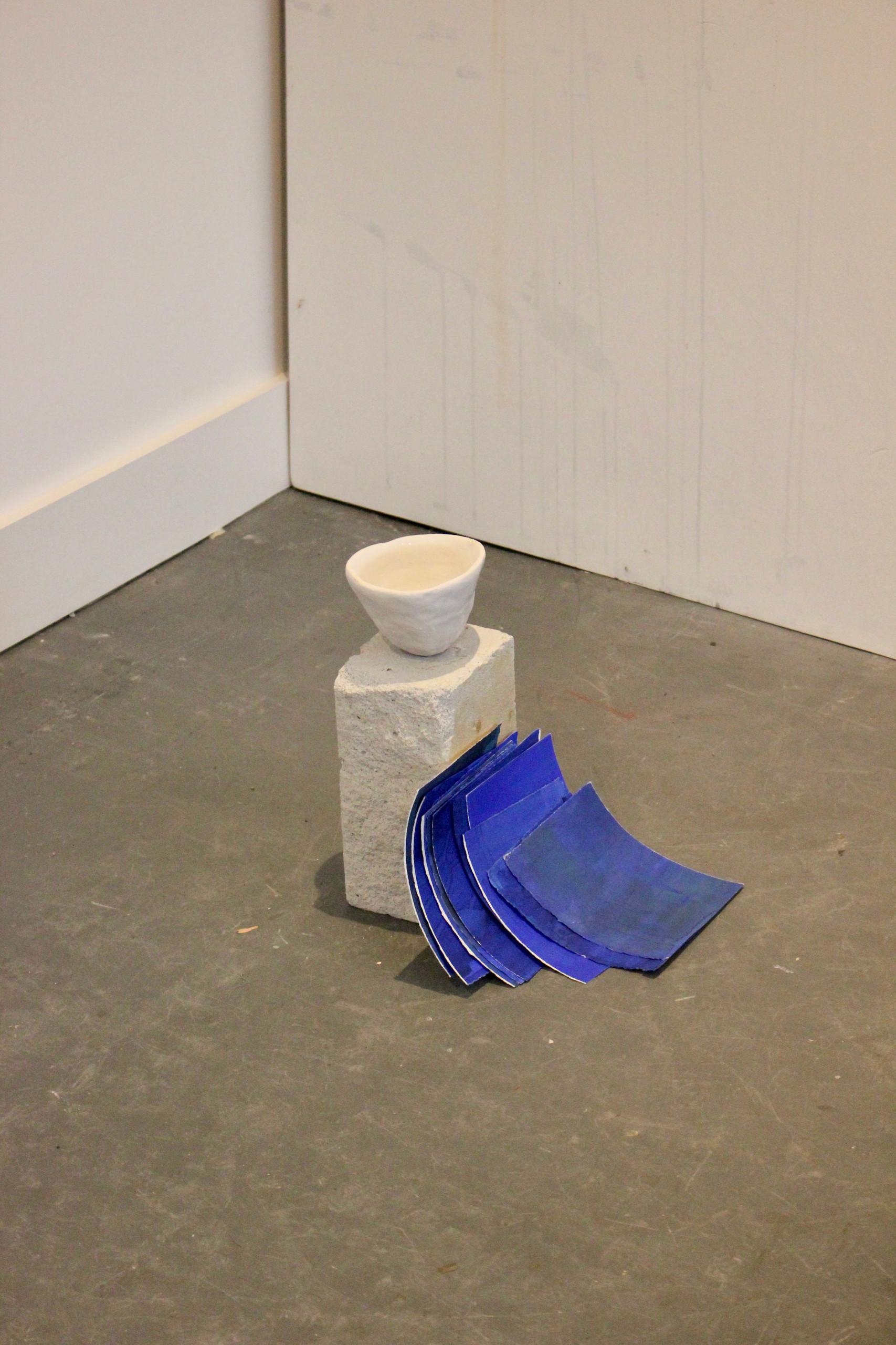 water, vessel, paper waves