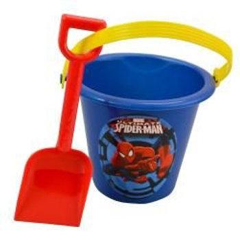 Spiderman Sand Bucket and Shovel