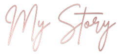 My, Story, Rose Gold, Brittany Font