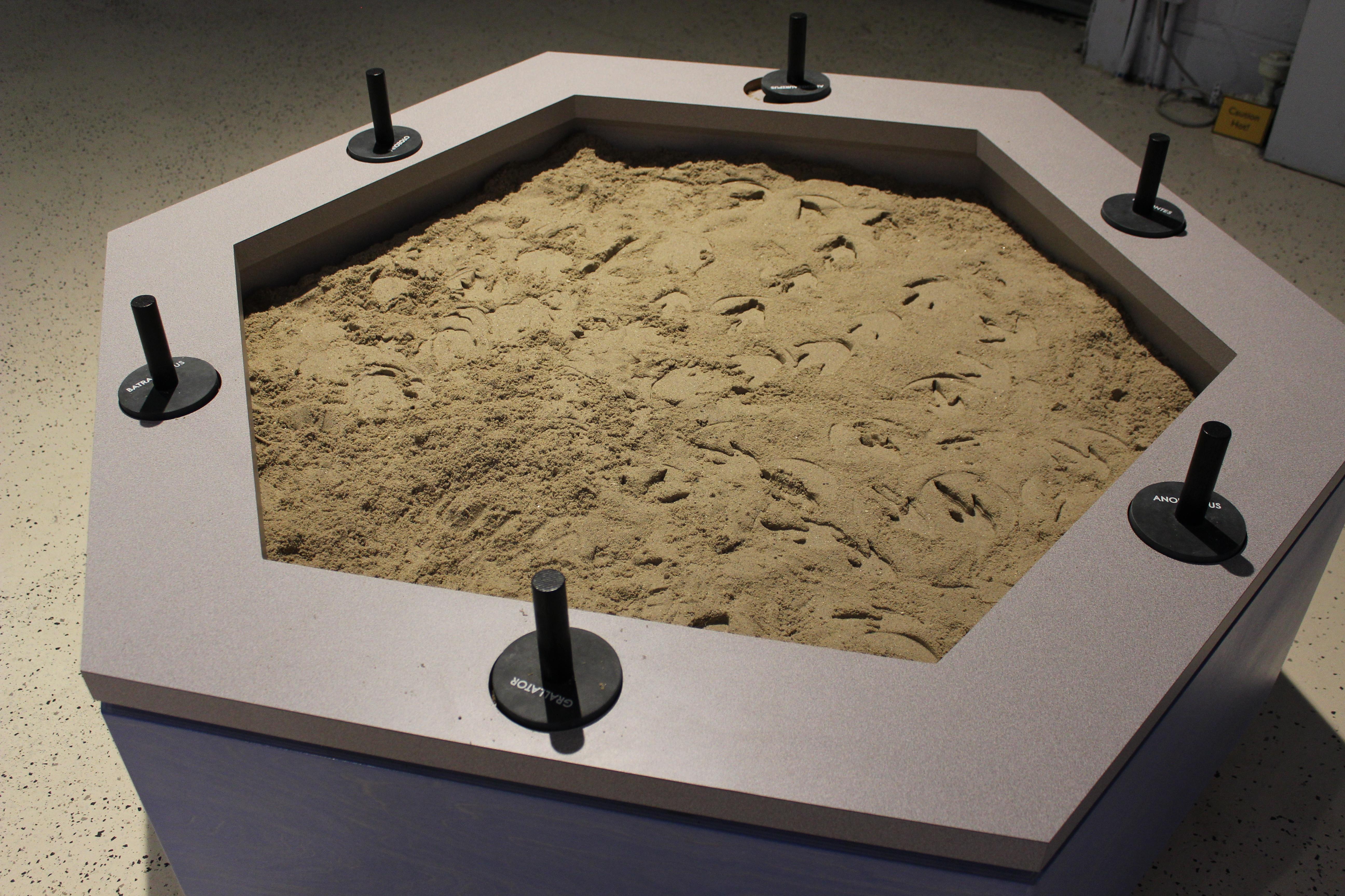 Footprint Sand Table