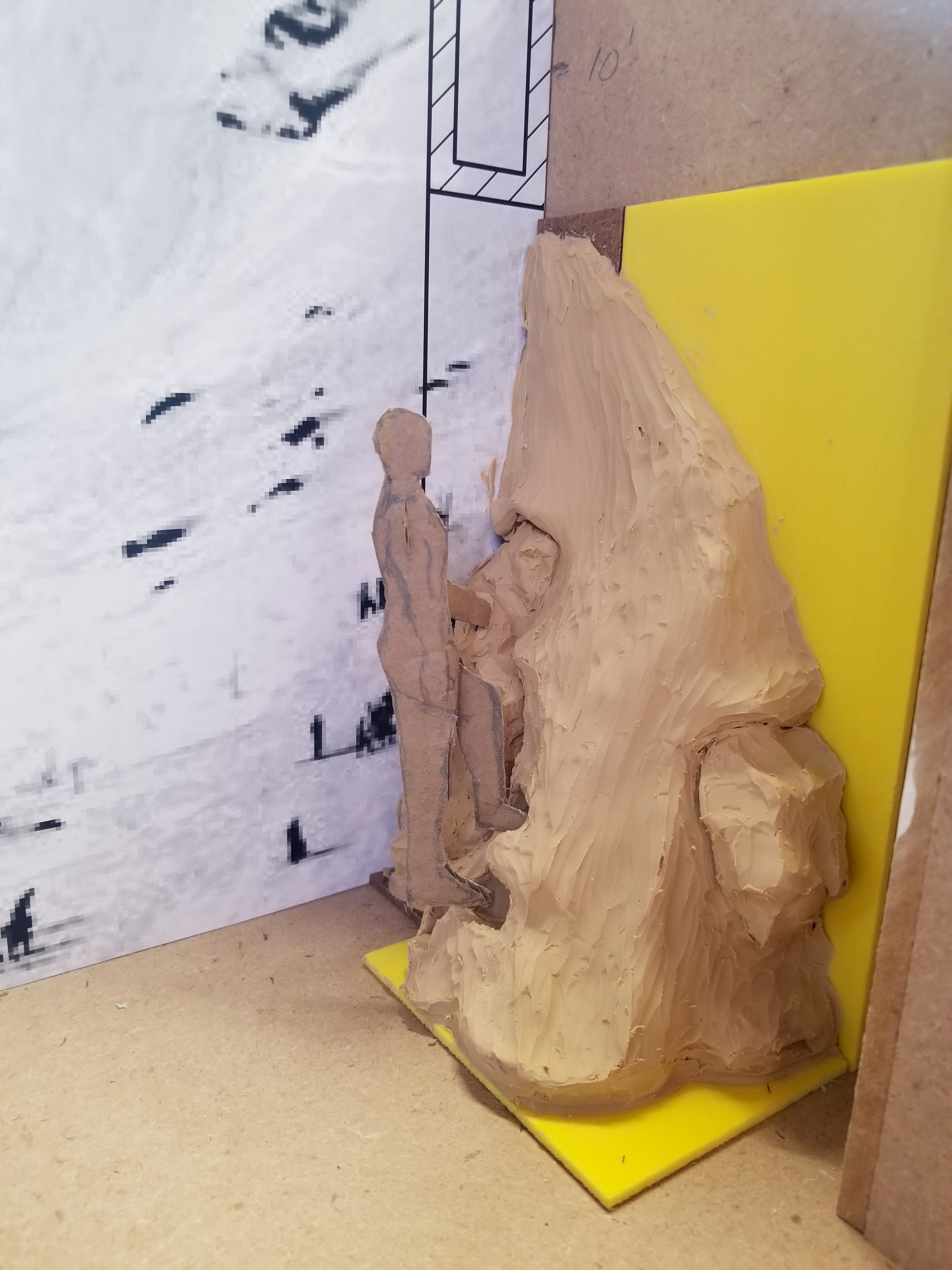 Clay Scale Model
