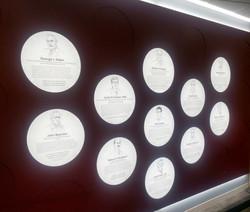 Wall of Luminaries