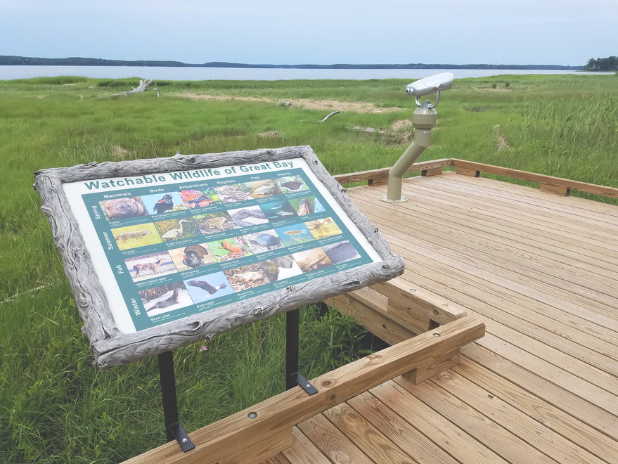 Great Bay Trail Signs