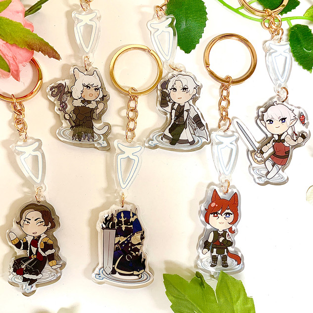 Final Fantasy XIV (shadowbringers) Charms