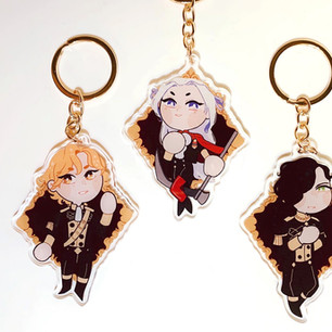 Black Eagles Charms