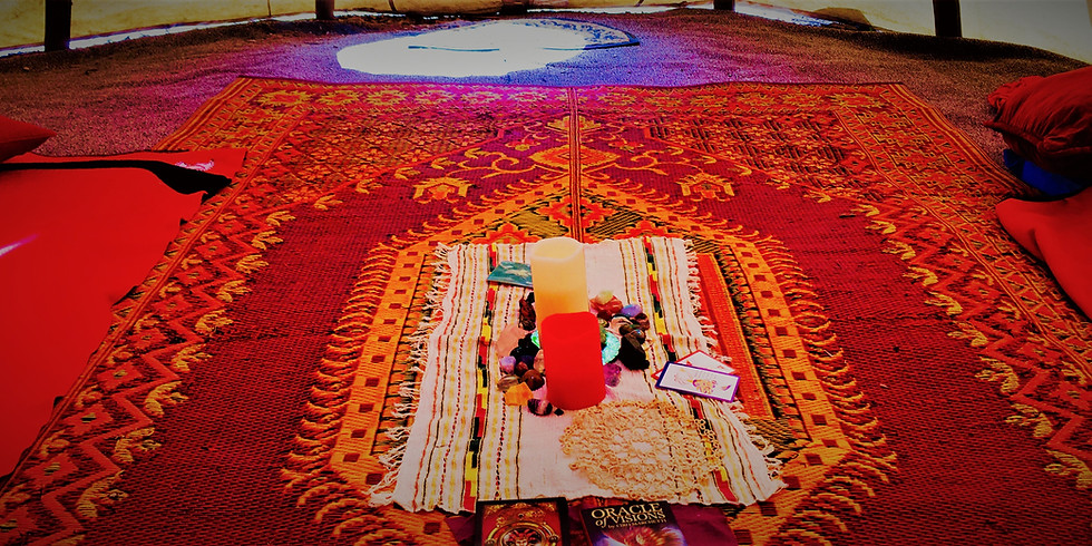 New Moon Red Tent Ceremony:  A Gathering Of Gratitude