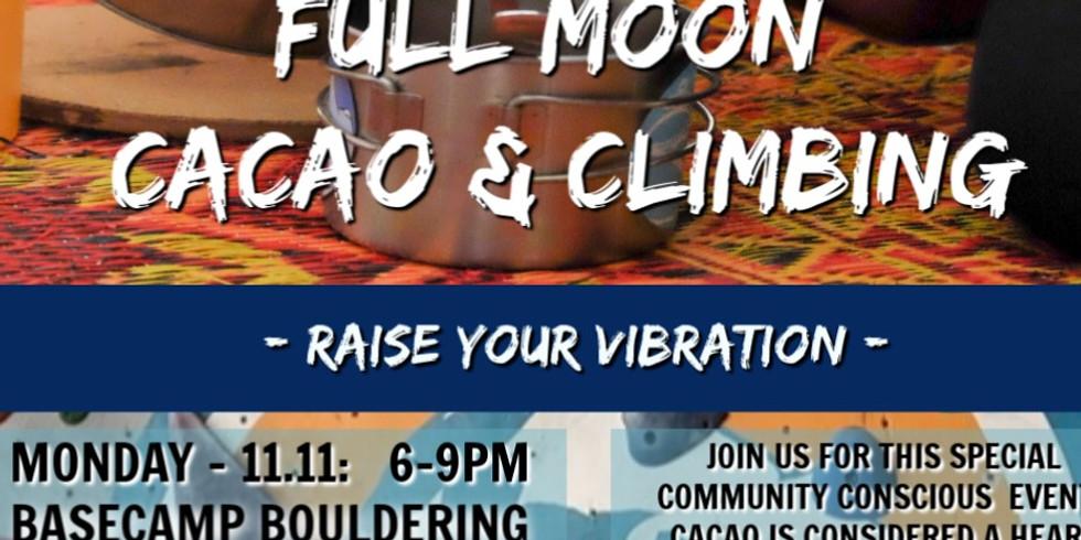 Full Moon Cacao & Climbing
